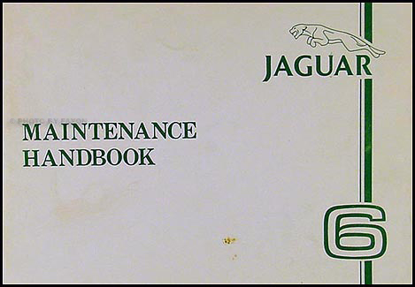 1980 Jaguar XJ6 Maintenance Handbook Original