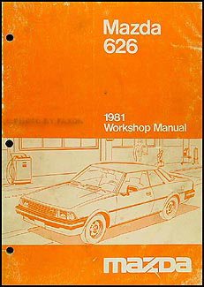 1981 Mazda 626 Repair Manual Original