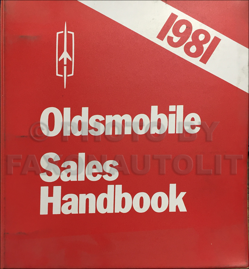 1981 Oldsmobile Color & Upholstery Dealer Album / Data Book Original CANADIAN