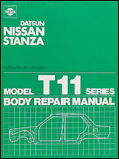 1982-1986 Nissan Stanza Body Repair Manual Original