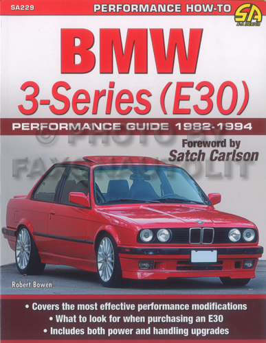 1982-1994 BMW 3-Series (E30) Performance Guide 318 325