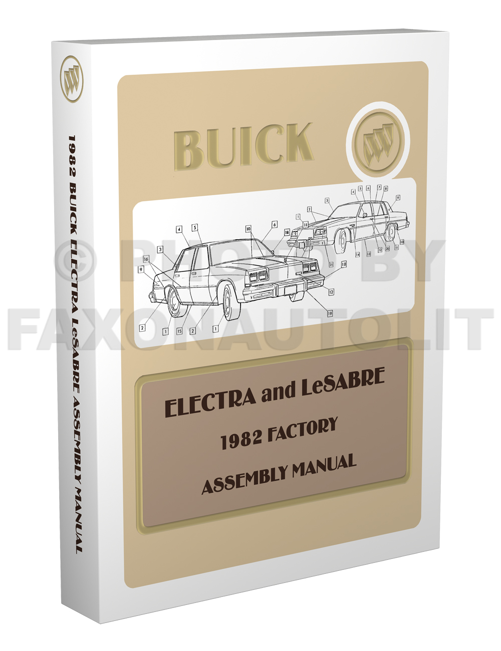 1982 Buick LeSabre and Electra Factory Assembly Manual Reprint