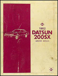 1982 Datsun 200SX Repair Manual Original