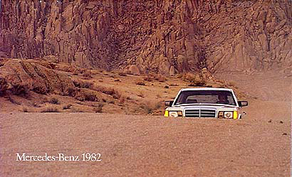 1982 Mercedes-Benz Original Sales Catalog -- All models