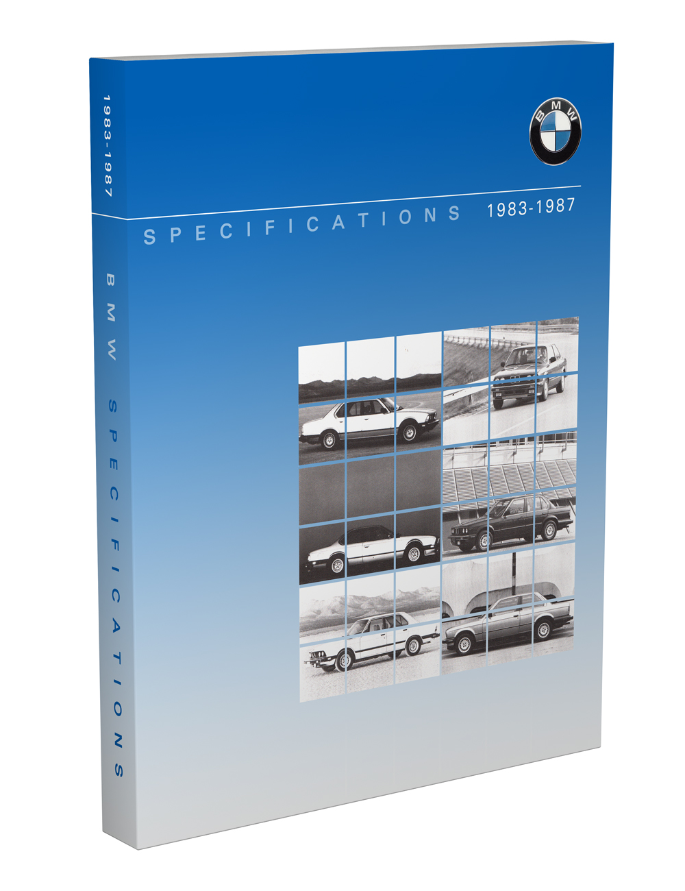1983-1987 BMW Car Service Specifications Manual Reprint