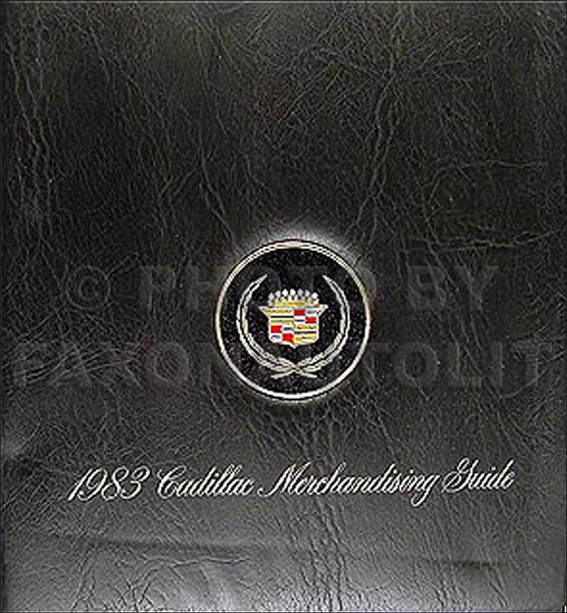 1983 Cadillac Merchandising Guide - Data Book and Color & Upholstery Album
