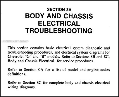 1983 Chevy Electrical Troubleshooting Impala Caprice Malibu Monte Carlo El  Camino