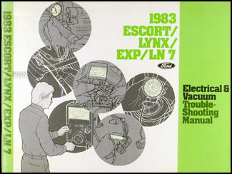 1983 Escort/EXP Lynx/LN-7 Electrical Troubleshooting Manual Original