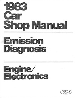 1983 Car Engine/Emissions Diagnosis Manual Original