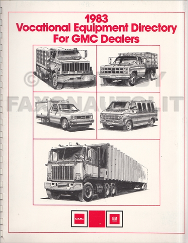 1983 GMC Truck Vocational Equipment Dealer Album