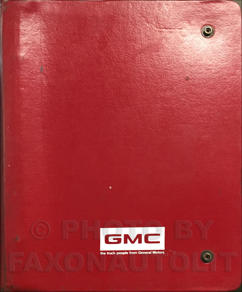 1983 GMC Medium & Heavy Duty Data Book Original