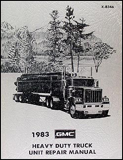 1983 GMC 8500-9000 Overhaul Manual Original General Astro Brigadier