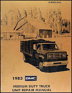 1983 GMC Medium Duty Truck Overhaul Manual Original