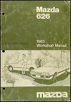 1983 Mazda 626 Repair Manual Original