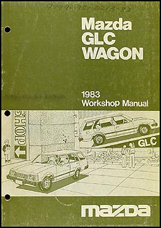 1983 Mazda GLC Wagon Repair Manual Original