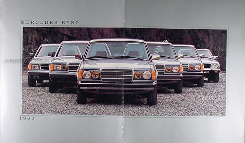 1983 Mercedes-Benz Sales Catalog Original--All Models