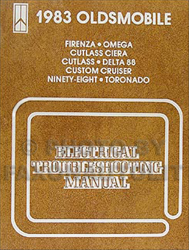 1983 Oldsmobile Electrical Troubleshooting Manual Original - All Cars