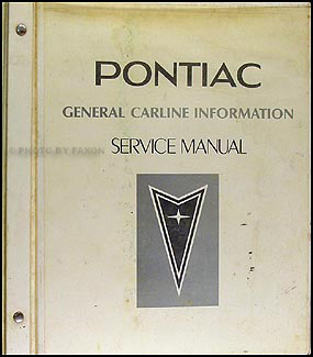 1983 Pontiac General Carline Information Shop Manual Original