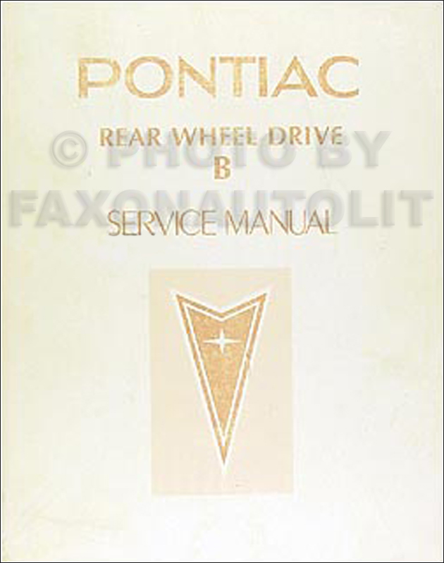 1983 Pontiac Parisienne Repair Manual Original