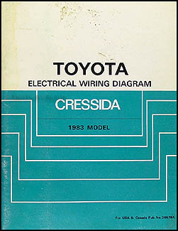 1983 toyota cressida wiring diagram manual original  faxon auto literature