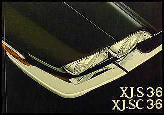 1984-1985 Jaguar XJS Owner's Manual Original