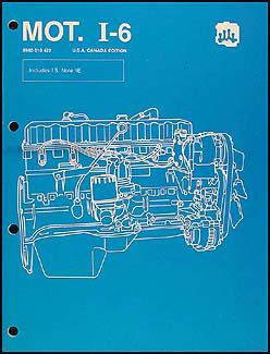 1984-1988 AMC & Jeep 4.0L 4.2L 6 Cyl. Engine Overhaul Manual Original