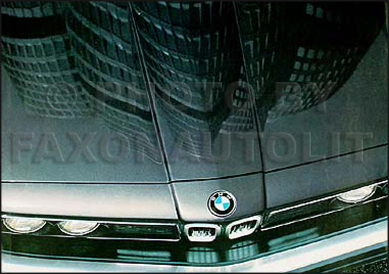 1984 BMW Sales Folder 318i 325e 528e 533i 633 CSi 733i Original Brochure