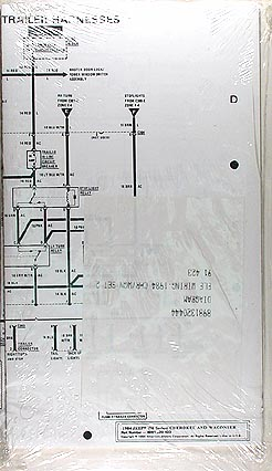 1984 Jeep Cherokee & Wagoneer Original Wiring Diagram Schematic 84 Jeep Power Seat Wiring Diagram on ford power seat wiring diagram, volvo power seat wiring diagram, lincoln power seat wiring diagram, dodge power seat wiring diagram,
