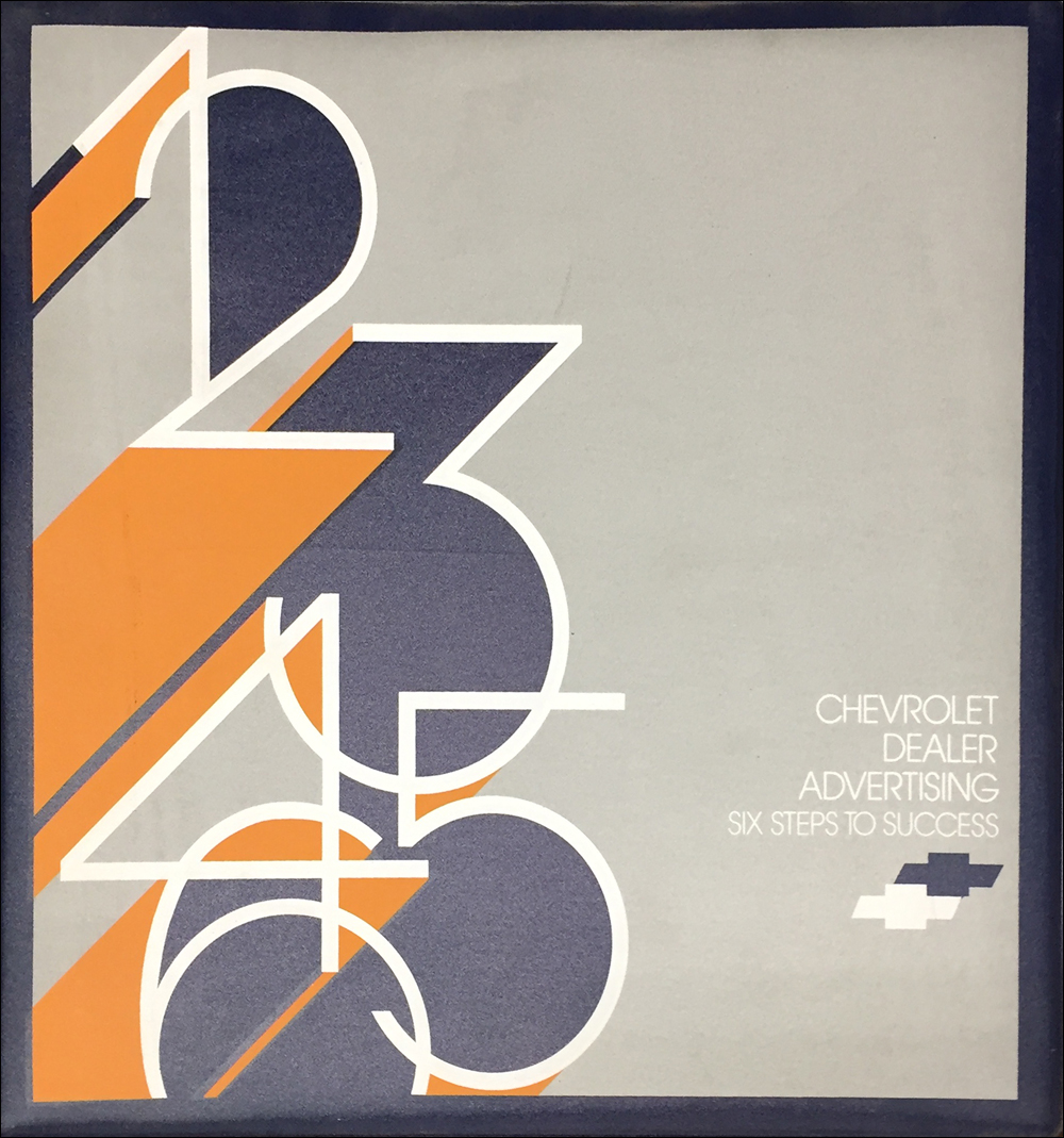 1984 Chevrolet Dealer Advertising Planner Original