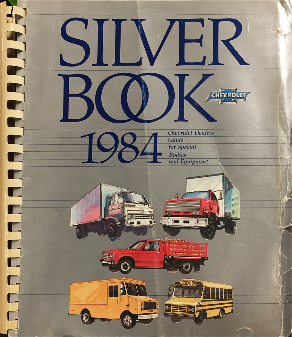 1984 Chevrolet Truck Silver Book Special Equipment Dealer Album inc. Van conversions