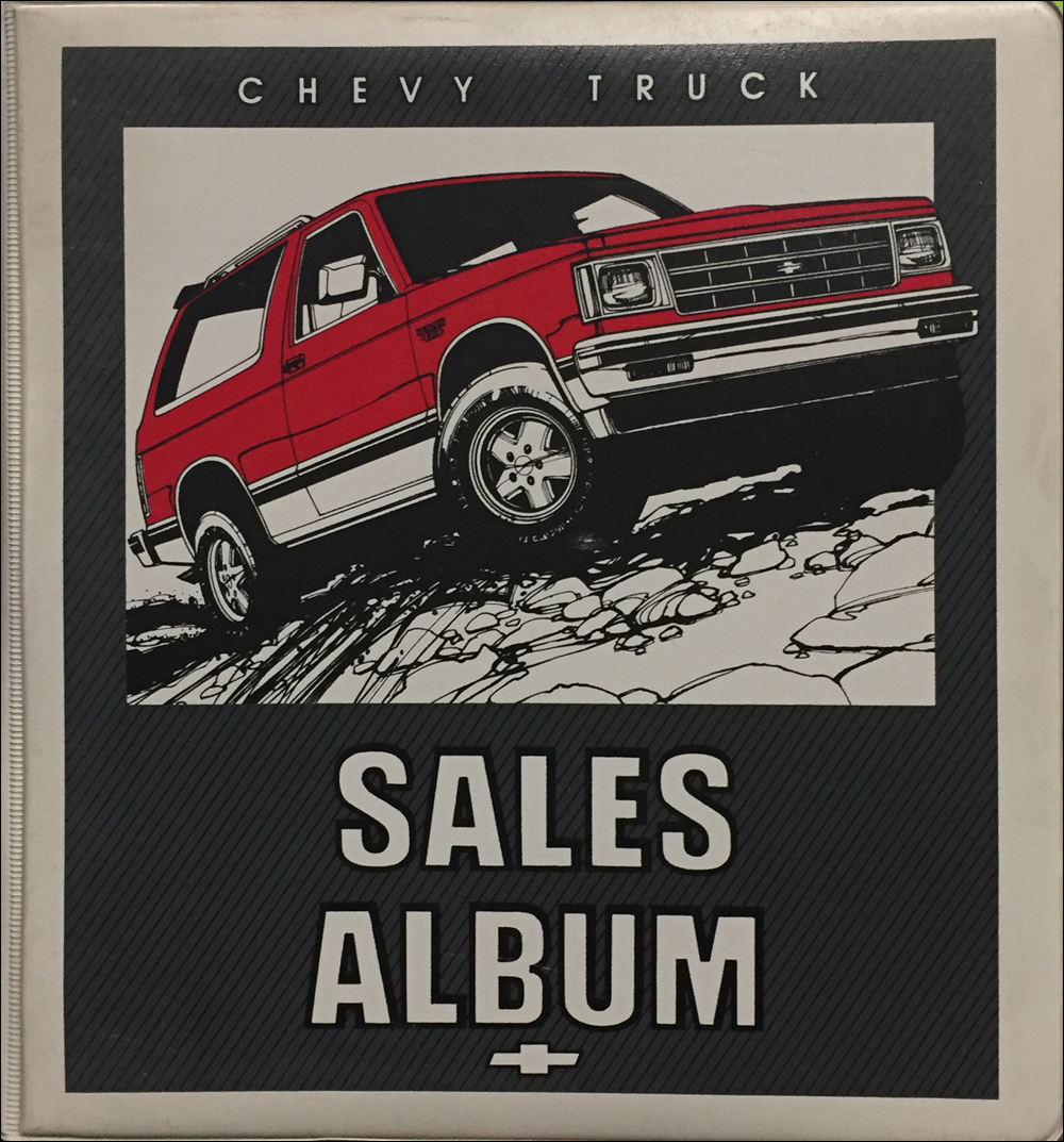 1984 Chevrolet Truck Sales Album and Color and Upholstery Dealer Book Original