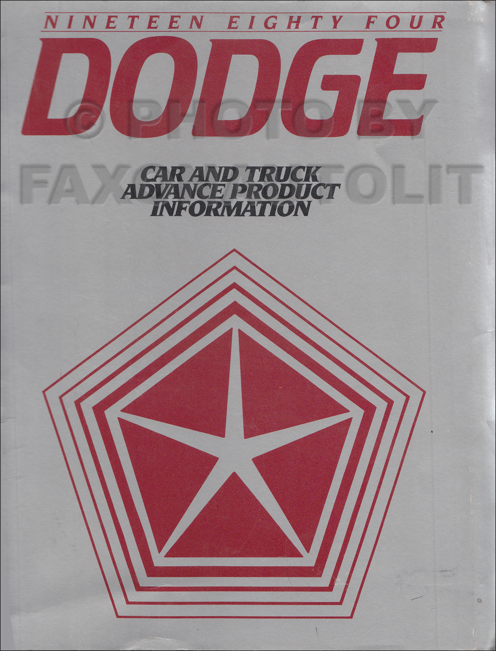 1984 Dodge Ram Van And Wagon Repair Shop Manual Original B150 B350 1990 Wiring Diagram Related Products