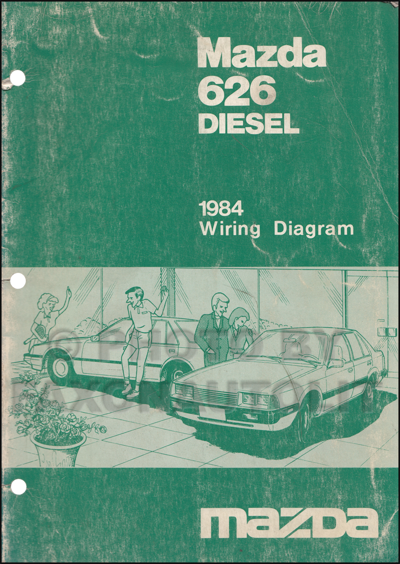 Search 1984 Toyota Diesel Wiring Diagram Mazda 626 Manual Original