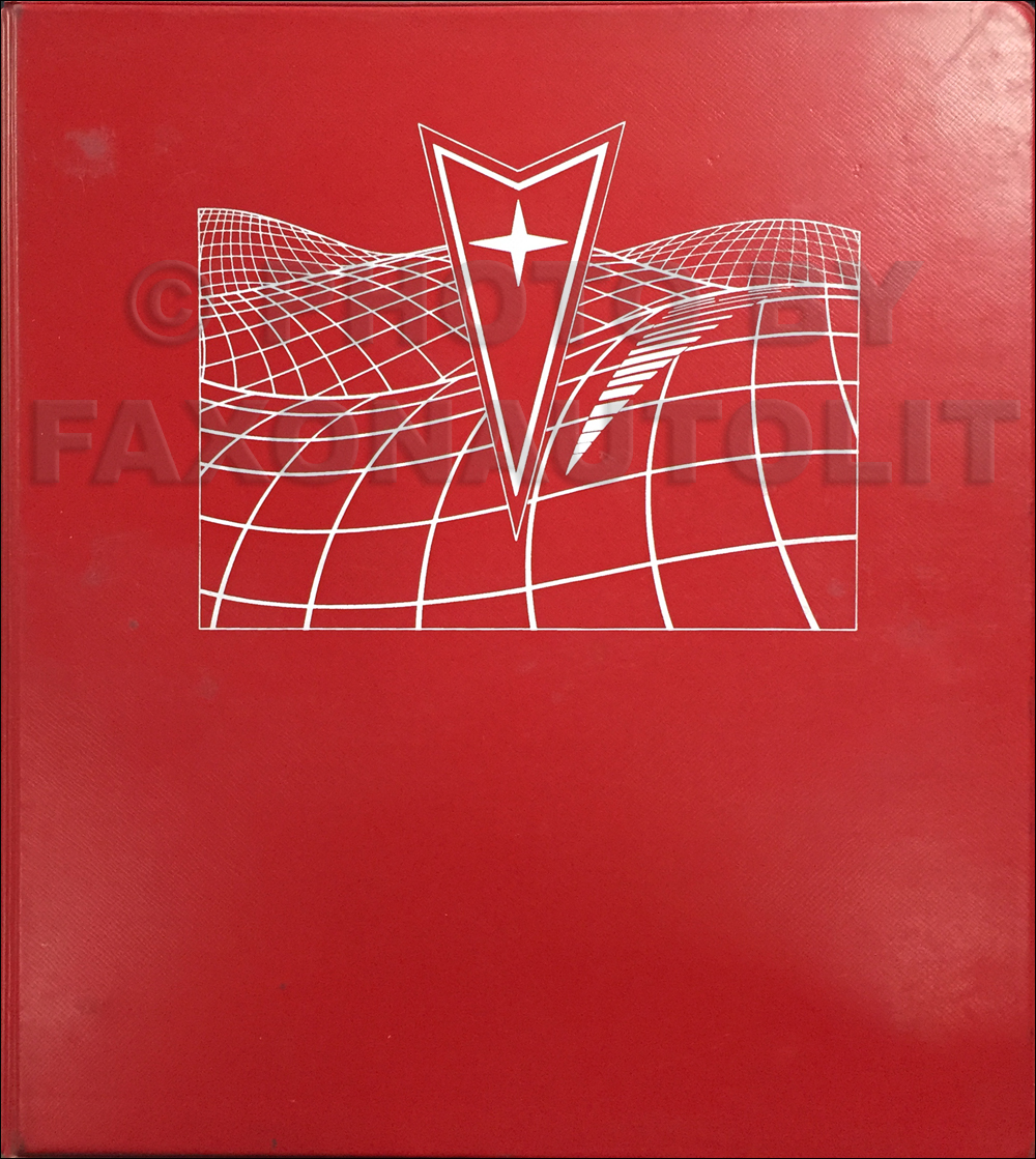 1984 Pontiac Dealer Advertising Planner Original