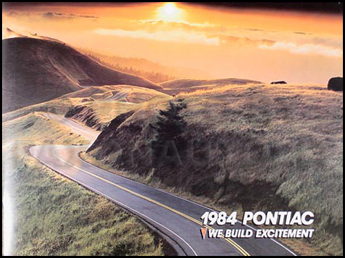 1984 Pontiac Sales Catalog Original--All models