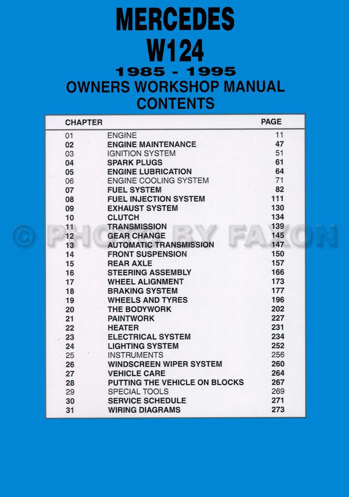 Fabulous 1989 Mercedes Benz 300E 30L Fi 6Cyl Repair Guides Wiring Diagrams Wiring Digital Resources Bemuashebarightsorg
