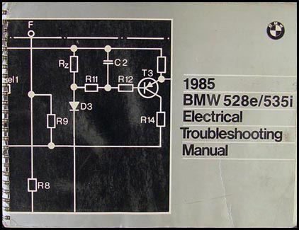 1985 bmw 528e 535i electrical troubleshooting manual 1987 bmw 325i 1987 bmw 528e wiring diagram #14