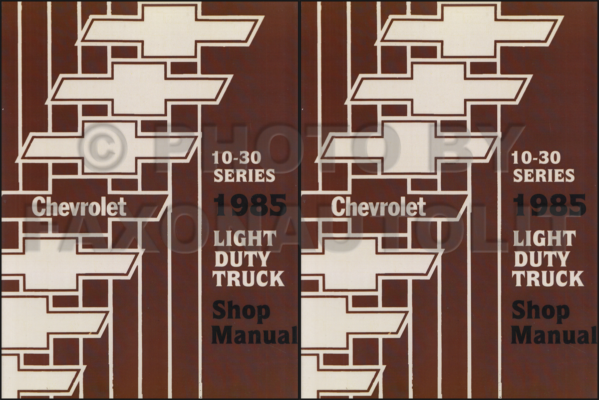 1985 gmc chevy ck wiring diagram original pickup suburban chevrolet wiring diagram 1985 silverado wiring diagram #11