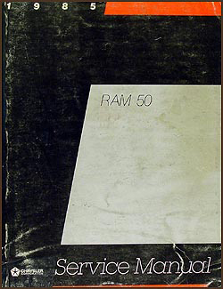 1985 Dodge Ram 50 Truck Shop Manual Original