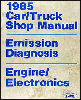 1985 Engine and Emissions Diagnosis Manual Original
