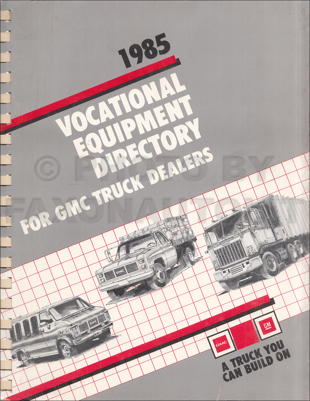 1985 gmc medium truck repair shop manual original ... 1985 s15 jimmy wiring diagram