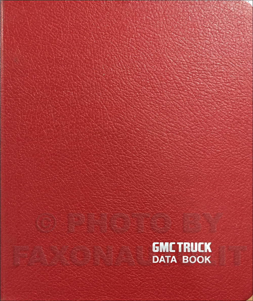 1985 GMC Heavy Duty Data Book Original
