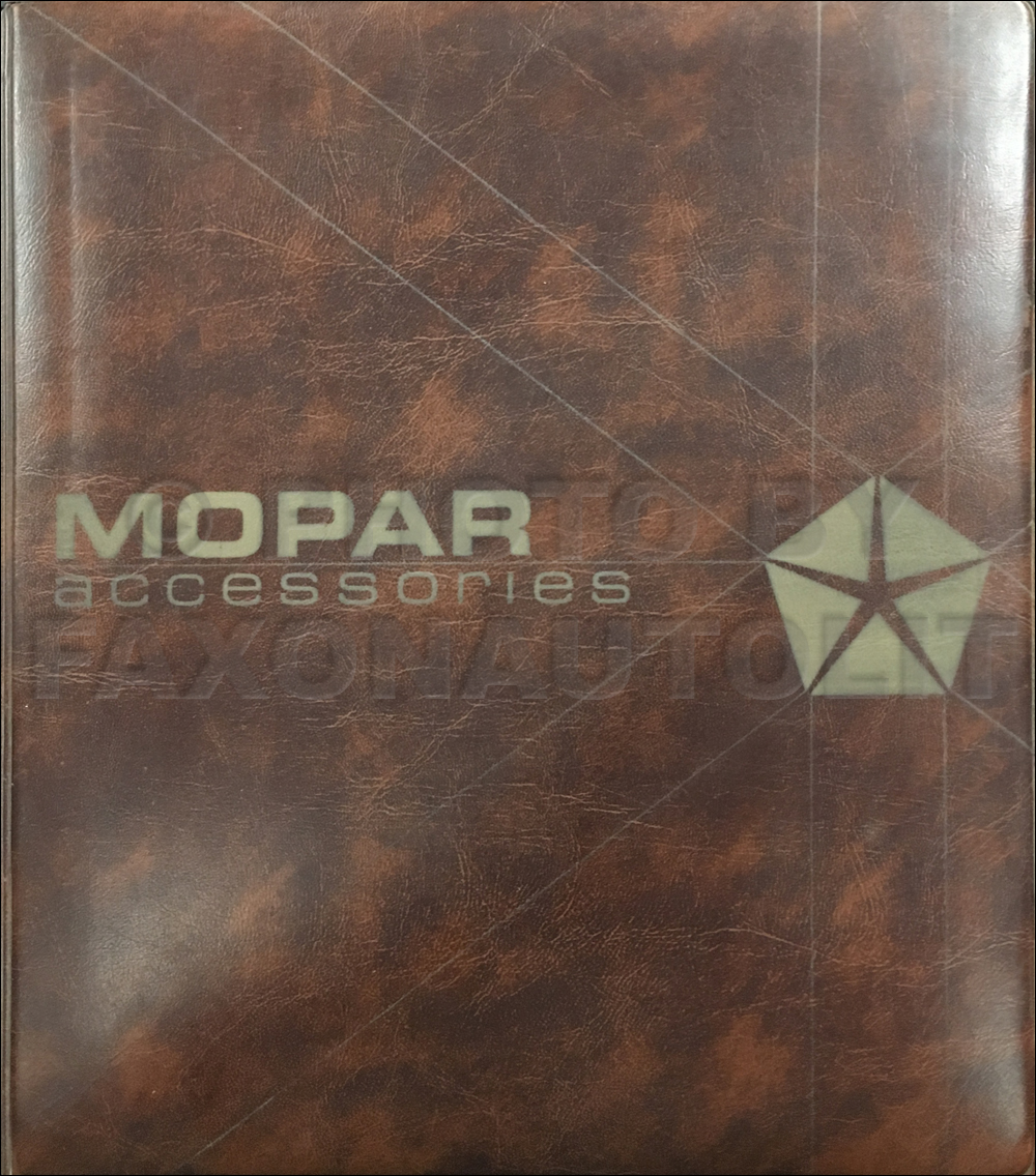1984 Mopar Accessories Data Book Original