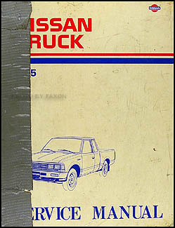 1985 Nissan Truck Repair Manual Original