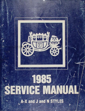 1985 GM Compact and Mid-Size Body Manual