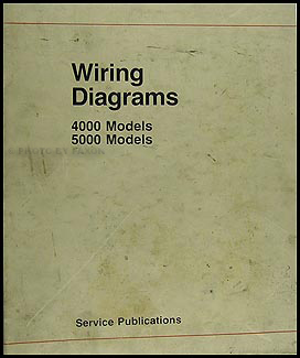 Audi 1986-1988 5000 & 1986-1987 4000 Wiring Diagram Manual Original
