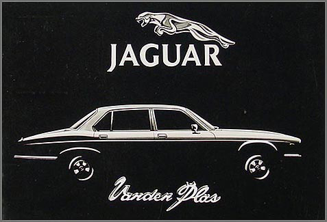 1986-1987 Jaguar Vanden Plas Owner's Manual Supplement Original