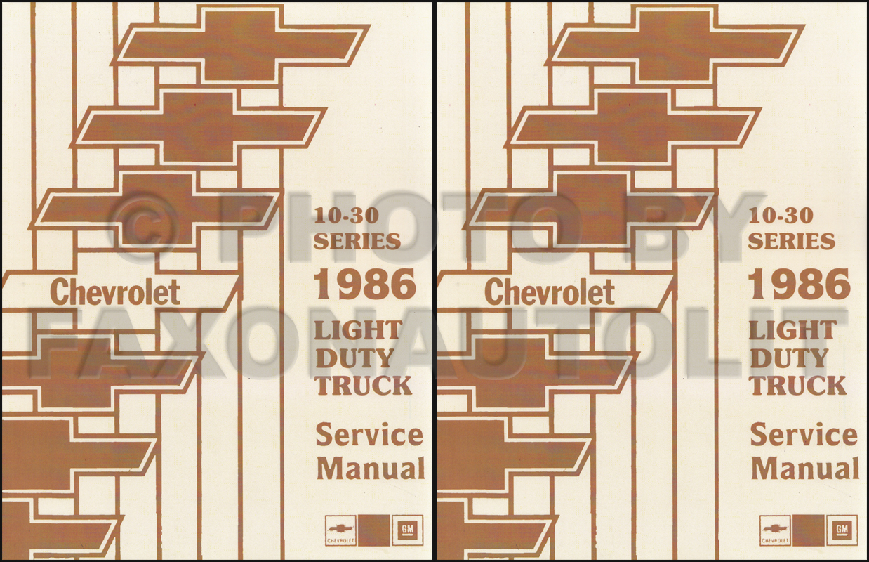 1986 Chevy Gmc Forward Control Wiring Diagram Original