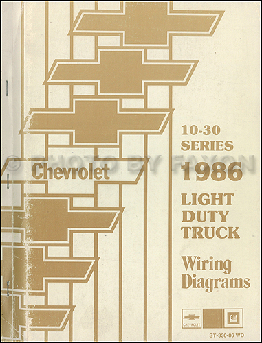 wiring diagram for your chevy truck 1986 chevrolet ck wiring diagram original pickup suburban blazer  1986 chevrolet ck wiring diagram