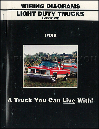 1986 GMC CK Wiring Diagram Original Pickup Suburban Jimmy Sierra